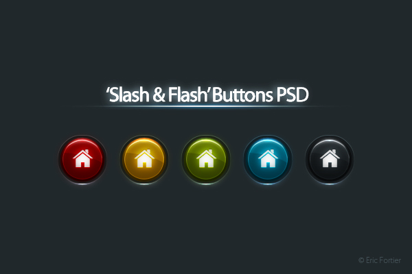 'Slash & Flash' Buttons