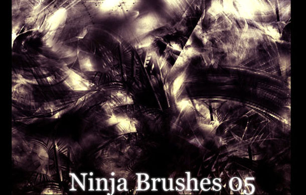Ninja Brushes 05 and Fractals
