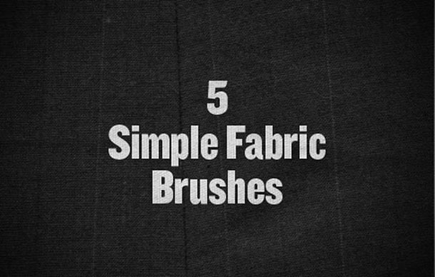 5 Simple Fabric Brushes