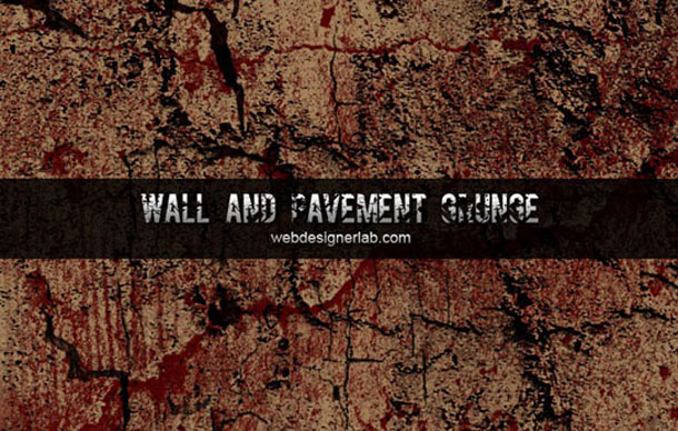 Walls and Pavement Grunge Brushes