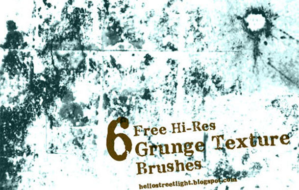 High Res Textured Grunge Brushes