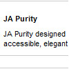 JA Purity admin
