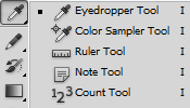 Eyedropper and metric tools