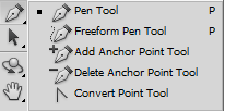 Adobe Photoshop Pen Tool