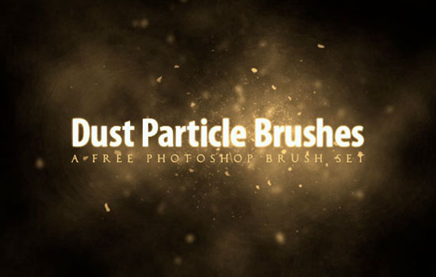 Free Dust Particle Photoshop Brush Set