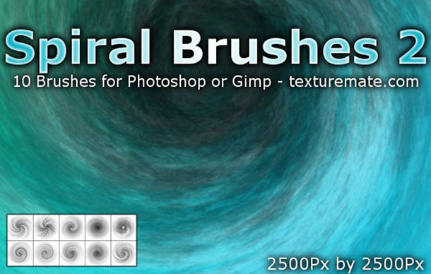 Spiral 2 Brush Pack