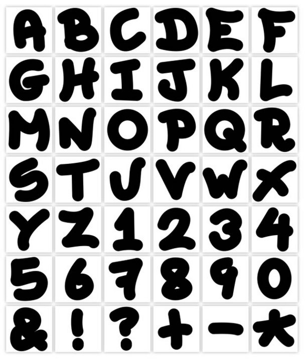 The Grafitti Font